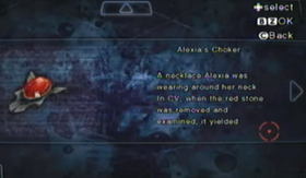 Collar de Alexia archivo