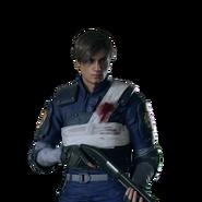 Leon Policía clásico herido