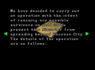 RE2 Operation report 1 03