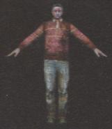 Degeneration Zombie body model 46