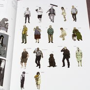 Resident Evil 7 Characters concept art