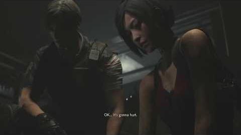 Leon rescues Ada