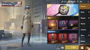 PUBG Mobile X Resident Evil 2 Ada's Coat costume
