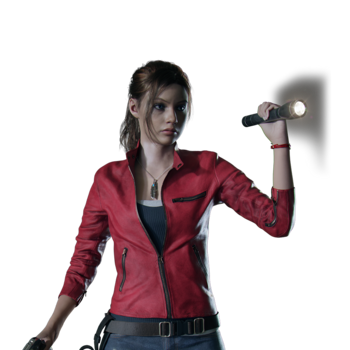 RE2 remake - Claire Jacket costume PV