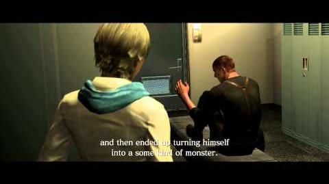 Resident Evil 6 all cutscenes - Six-Month Reunion (Sherry)