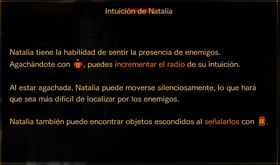 Intuición de Natalia