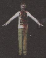Degeneration Zombie body model 52