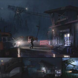 Концепт-арты Resident Evil 2 Remake