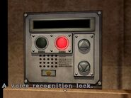 Voice recognition lock 1