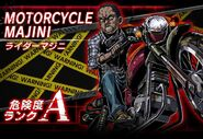 BIOHAZARD Clan Master - Battle art - Rider Majini
