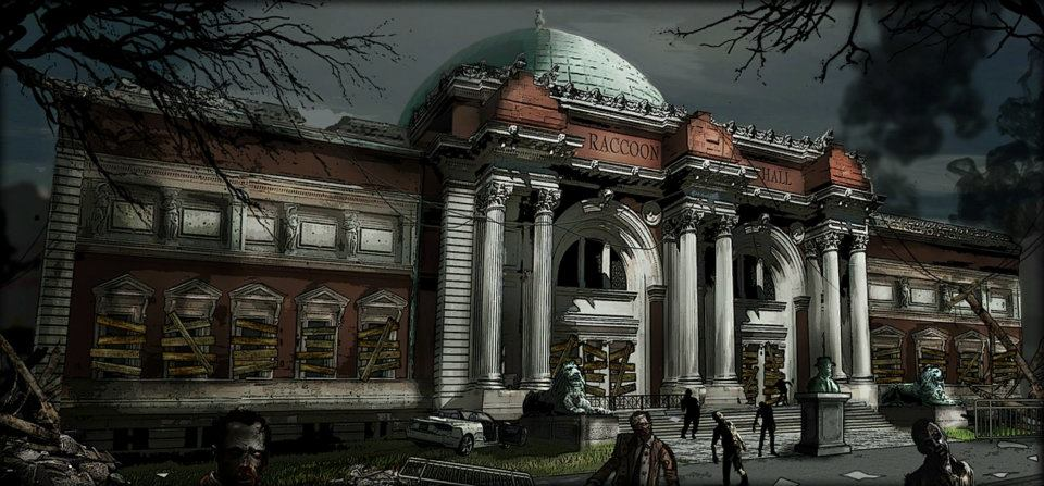 Hasil gambar untuk resident evil operation racoon city city hall