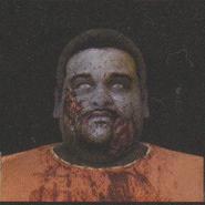 Degeneration Zombie face model 29