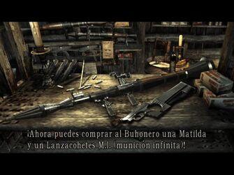 Dos de las Armas Lanzacohetes y matilda