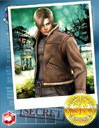 RE4 Leon solo Team Surivive