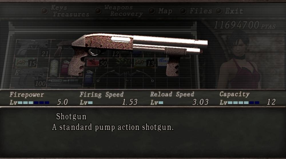 Shotgun Resident Evil Wiki Fandom