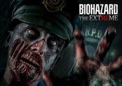 BIOHAZARD THE EXTREME poster
