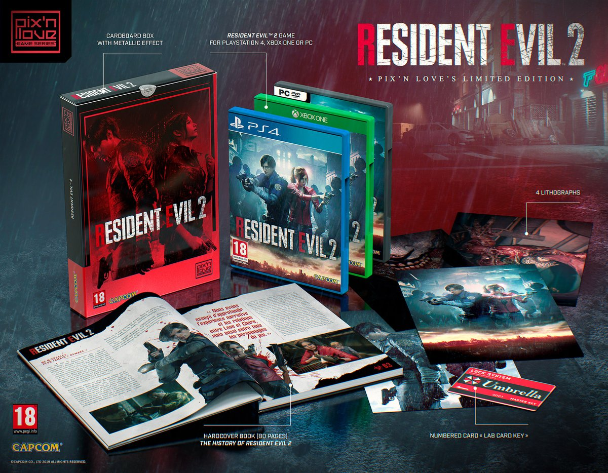 Resident Evil 2 Pix'n Love's Limited Edition | Resident Evil Wiki