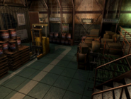 Resident Evil 3 background - Uptown - warehouse c2 - R10114