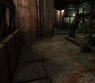 Arklay factory - Laboratory passage background 7