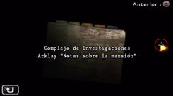 Complejo de Investigaciones Arklay Notas sobre la mansión