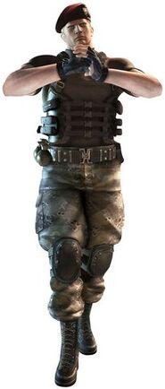 RE Mercenaries 3D Krauser