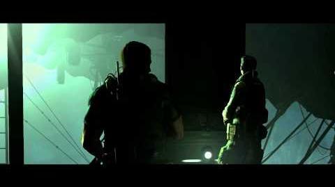 Resident Evil 6 all cutscenes - The Longest Elevator