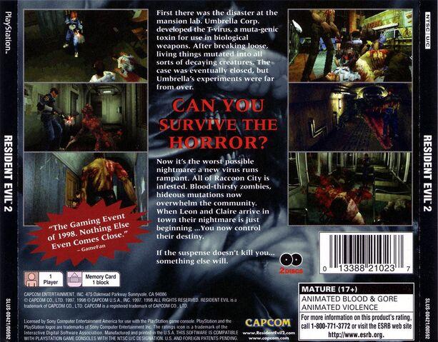 File:Resident evil 2 ntsc-back.jpg