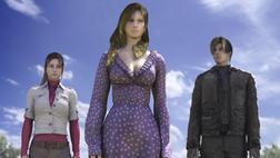 Angela, Leon y Claire