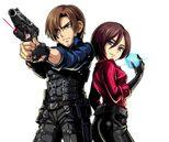 BIOHAZARD Clan Master RE6 Leon & Ada 1