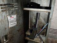 Grenade Launcher in the locker