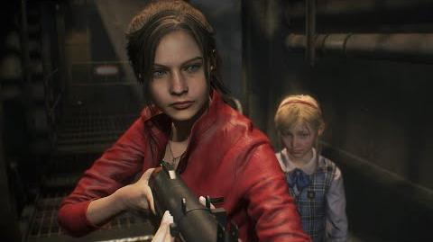 Resident Evil 2 Claire Gameplay Showcase - Gamescom 2018