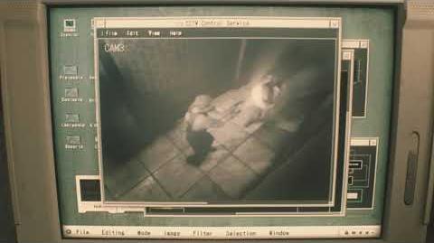 Resident Evil 2 remake all scenes - Elliot on CCTV