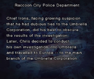 RE DC Raccoon City Police Department file page3