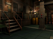 Resident Evil 3 background - Uptown - warehouse x - R10112