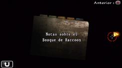 Notas sobre el Bosque de Raccoon
