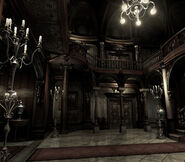 REmake background - Entrance hall - r106 00013