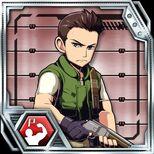 BIOHAZARD Clan Master - Character card - Chris Redfield