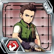 BIOHAZARD Clan Master - Character card - Chris Redfield