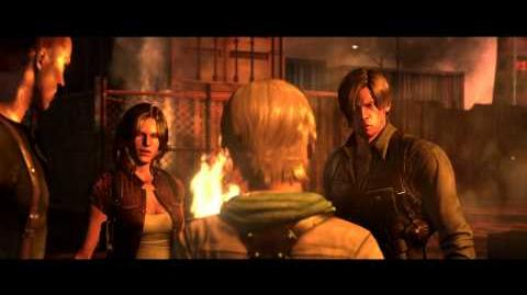 Resident Evil 6 all cutscenes - Raccoon City Reunion (Jake's version)