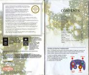 Resident Evil Instruction Booklet 2