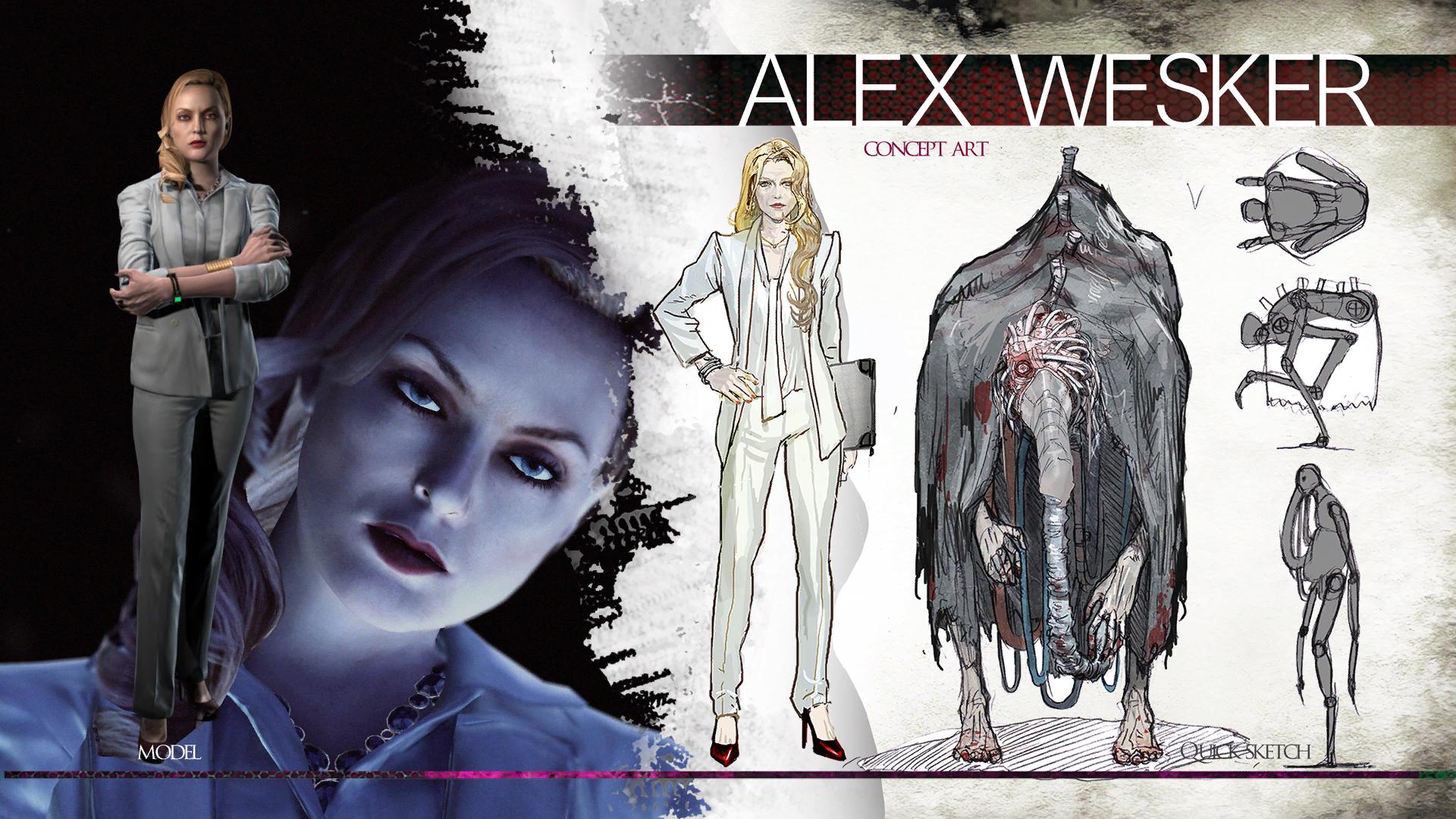 Alex Wesker Resident Evil Wiki Fandom Powered By Wikia