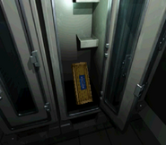 RE2 Weapons Locker opened