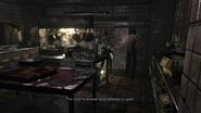 Resident Evil 0 HD - Kitchen refrigerator examine 2