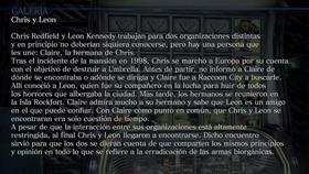 Chris y Leon