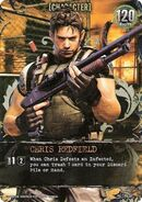 Deck Building Game - Chris Redfield CH-047