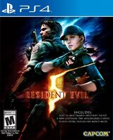 RE5 PS4 cover