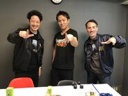 2020 Tokyo Game Show Peter, Kanda-san and Eiko Kano on the 27th