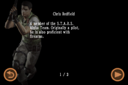 Mobile Edition file - Chris Redfield - page 1