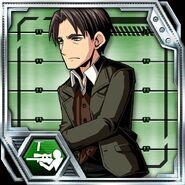 BIOHAZARD Clan Master - Character card - George Hamilton 1
