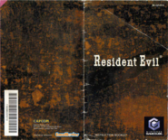Resident Evil Instruction Booklet 1